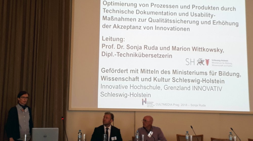 von links nach rechts: Prof. Dr. Sonja Ruda (Hochschule Flensburg), Prof. Dr. Björn Egbert (Technische Universität Chemnitz), Prof. Dr. Nicanor Ursua (University of the Basque Country)